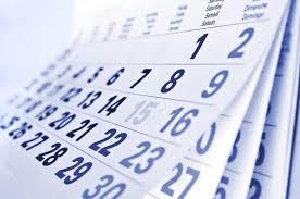 Calendarul pentru Evaluarea Nationala, clasa a VIII-a.