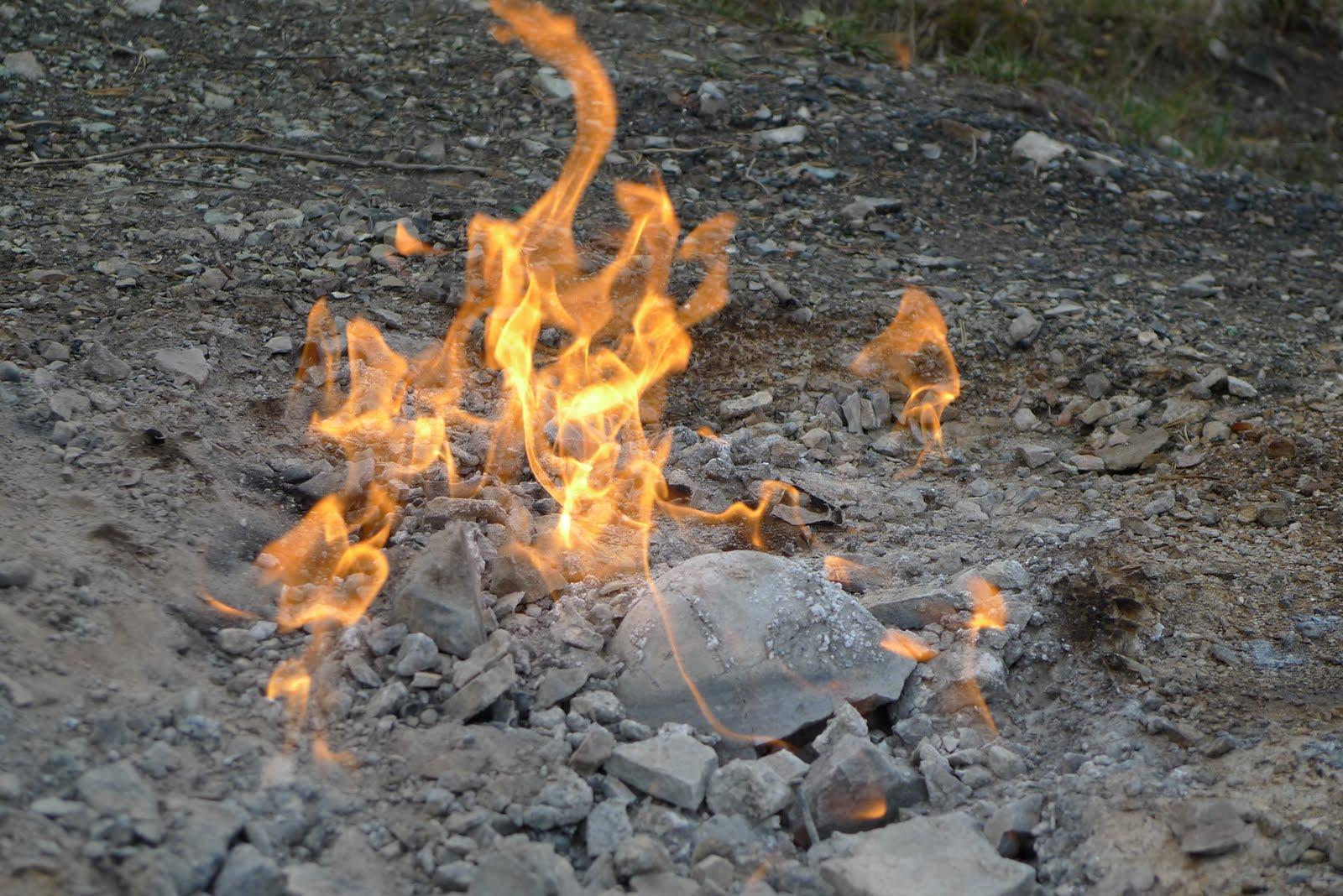 Să ne cunoaștem țara: Rezervația naturală focul viu